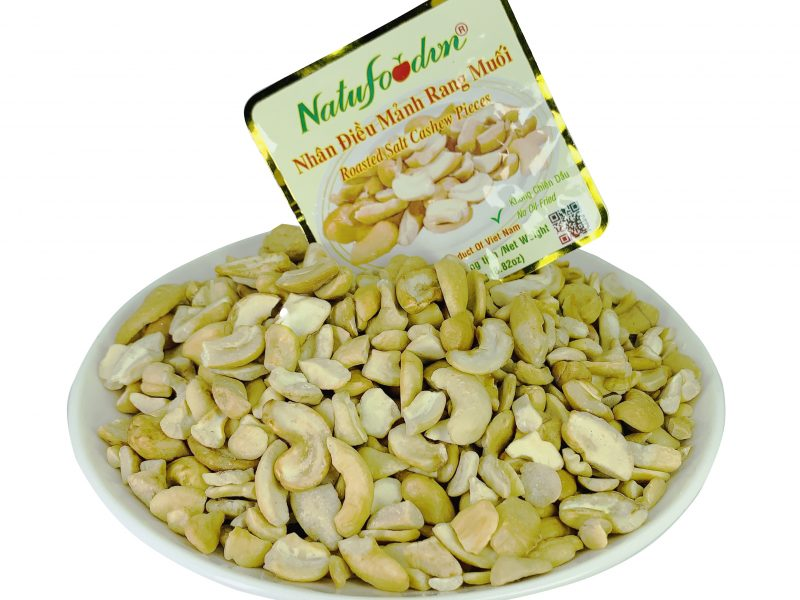 vietnam roasted salt LP cashew kernels disc